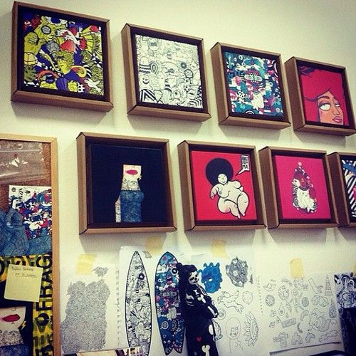 Thumbs up for @Vanessa Teodoro #thesupervan #lisbon #igers #instagramers #art #design #tonki #wehangit