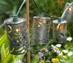25+ best ideas about Tin Can Lights on Pinterest Can lanterns, Tin can lanterns and Tin cans