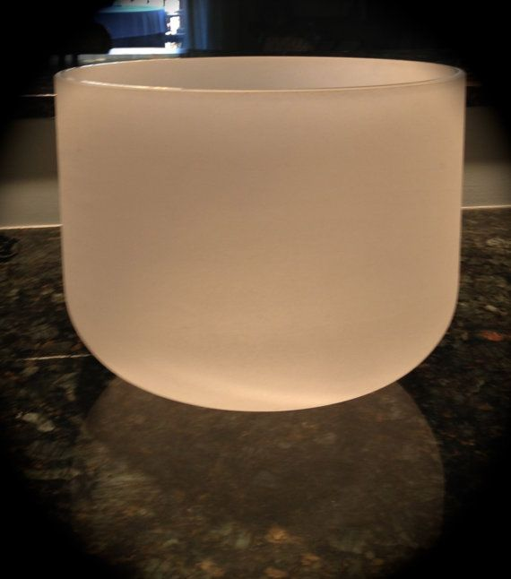 Crystal 12 Root Chakra Singing Bowl by outofdrawers on Etsy, $99.00