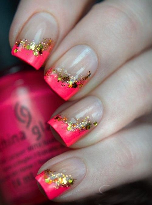 Cute nail designs for short nails easy to do at home, #cutenail designs for short nails,cute nail designs for #shortnails pinterest....