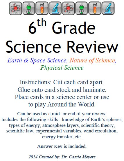 pin by dr cassie meyers on teacherspaytechers teacher 39 s vault 6th grade science science. Black Bedroom Furniture Sets. Home Design Ideas