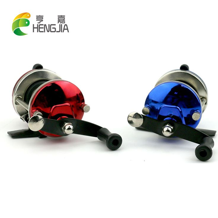 HENGJIA 1pcs mini winter ice fishing reel casting drop reels trout carp catifish fishing wheels isca pesca fishing tackles #Affiliate