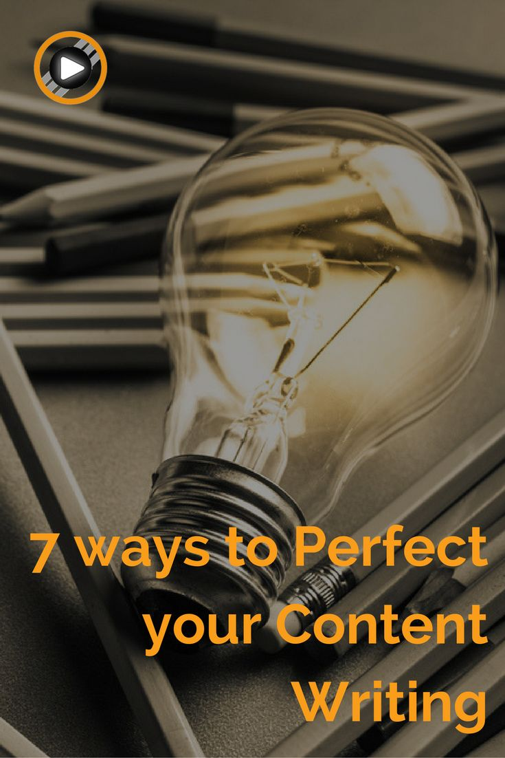 Need some tricks to improve your content writing? Here are our 7 tips! #content #writing #perfect https://goo.gl/MUsGHD