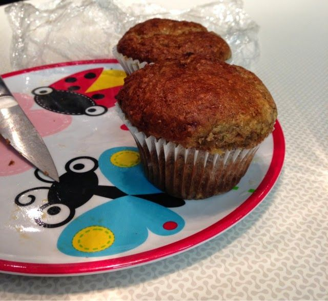 kabukikreations: a welcome back to Tasty Tuesday! Banana Bran Muffins