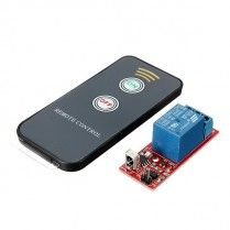 Télécommande infrarouge module 2 relais - 2 touche