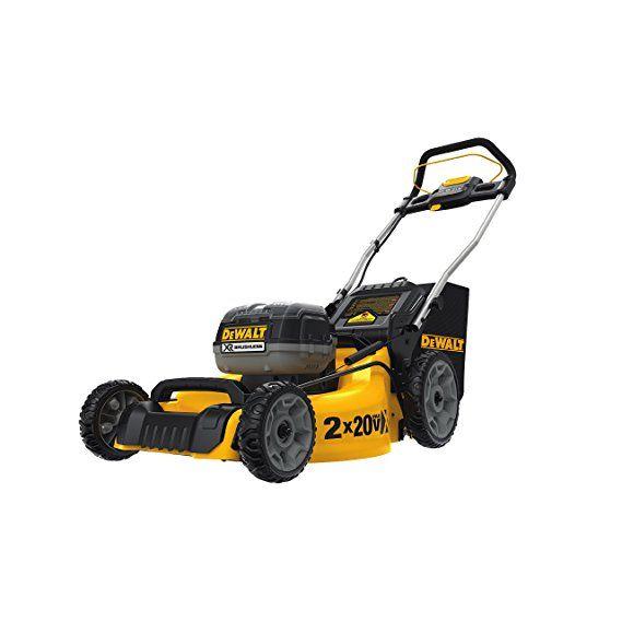 Dewalt Dcmw220p2 2x20v Dw Lawn Mower Best Lawn Mower Push Lawn Mower Lawn Mower