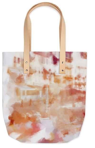 Foldaway Tote - Wild Peone and Cherry by VIDA VIDA 3CEu5B