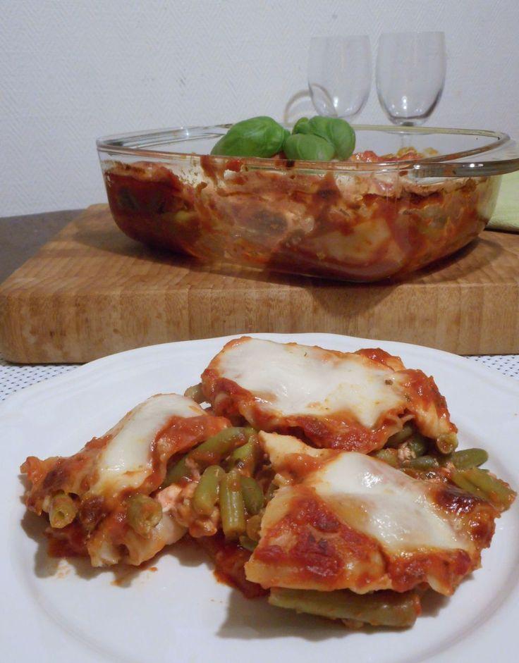 Zalmlasagne met mozzarella / Pasta / Hoofdgerechten / Recepten   Hetkeukentjevansyts.jouwweb.nl
