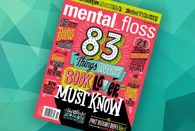 Subscription to Mental Floss magazine $22
