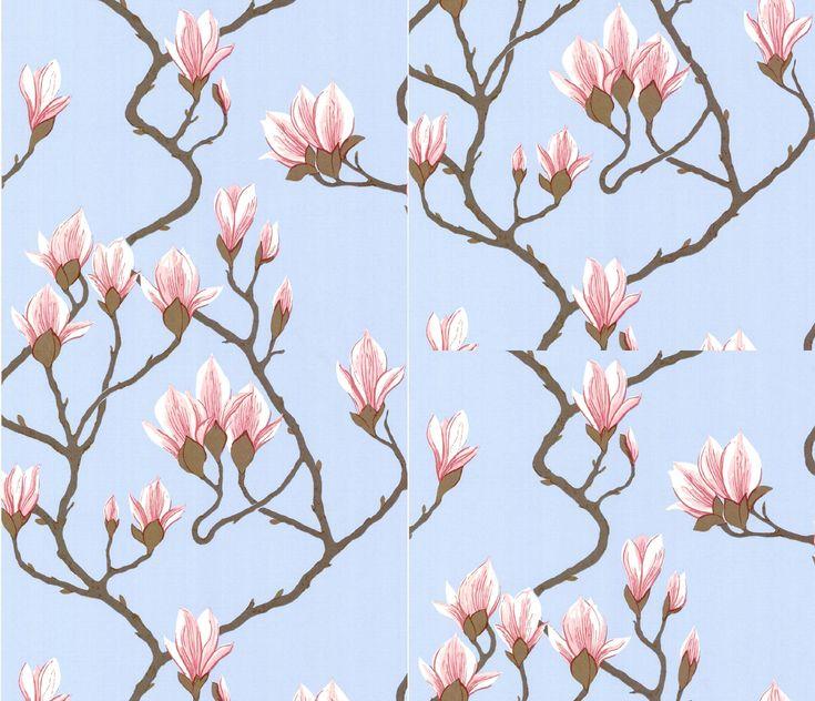 Magnolia wallpaper from Cole & Son