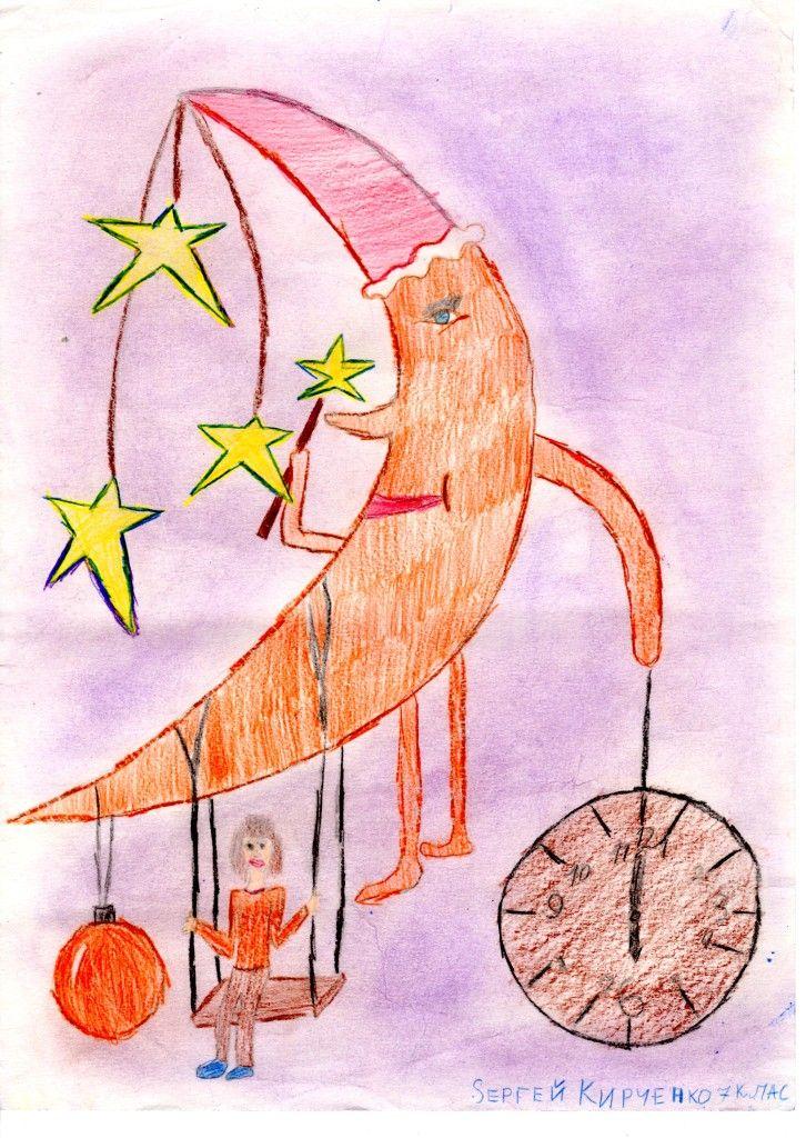 Рождественские рисунки детей из Медумской школы-интерната! — BLAGOsfera
