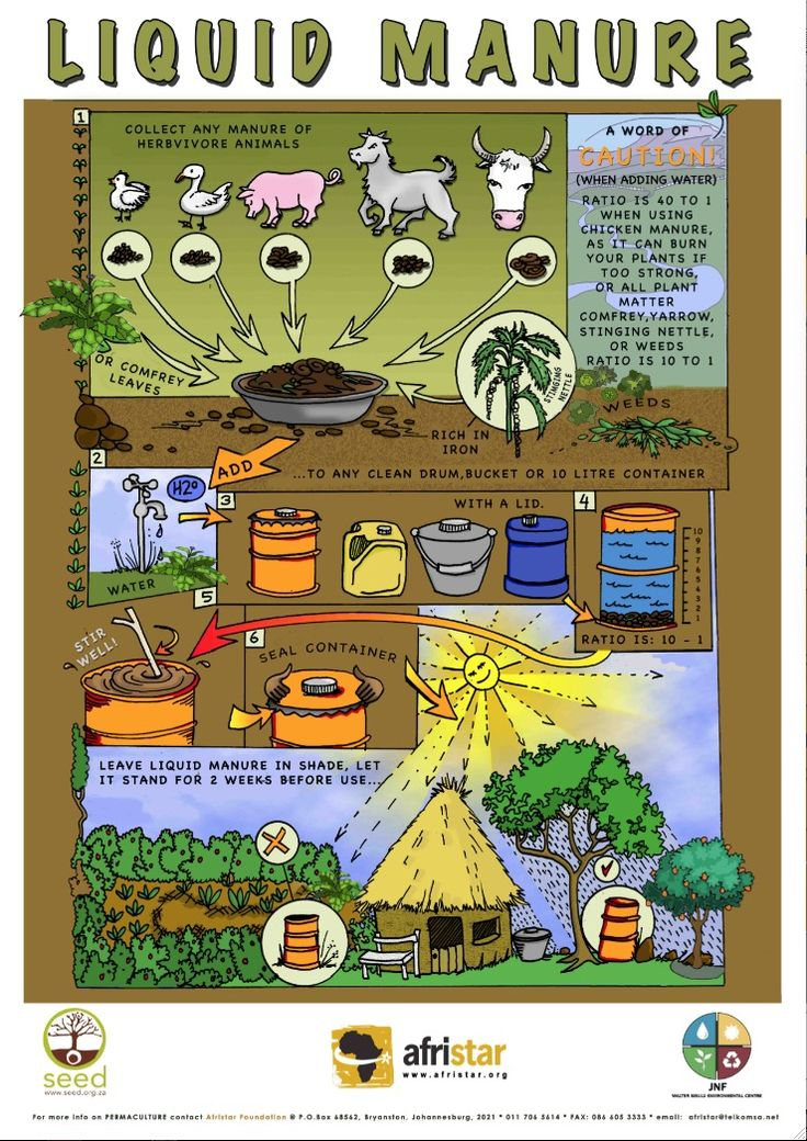 Afristar Permaculture Posters Manure Composting