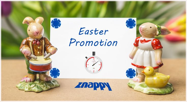 🐰🐥 We begin the countdown for Easter promotion. Hurry up and catch the 30%! Bye-bye Bunny! For more details, click: http://www.doizece.ro/holdem/promo-details🐥🐰 #ZnappyGames #Easter #Bunny #Lamb #Reducere #Sales #Promotion