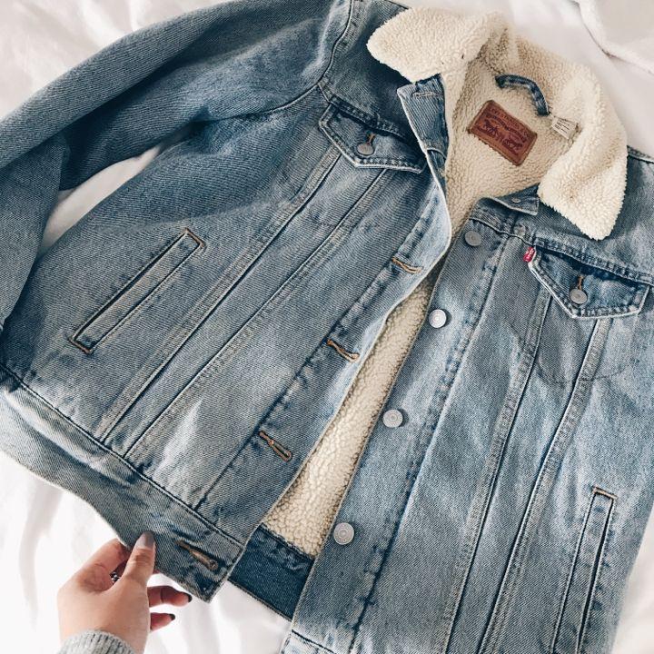 Levi's teddy jacket - UNISEX- Manteaux, Manteaux d'hiver