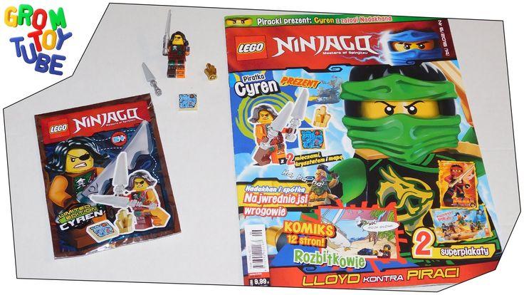 UNBOXING NEW LEGO NINJAGO MAGAZINE 6 2016 WITH CYREN