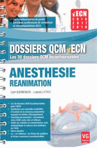 Dossiers QCM iECN / VG http://bu.univ-angers.fr/rechercher?recherche=9782818313732&page=1&index=ISBN