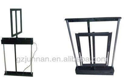 Nome do produtoPlasma TV elevador Item No.JN-C4 Adequado para32 ''-60 '' TV de plasma Forma de controleManual/remoto MaterialFerro CorPreto Tamanho823/940*650*103 mm N.W.40 kg Capacidade de carga40 kg Esquerda-direita girando340 ° Corrida de longa distância750 mm Tensão100-240AC
