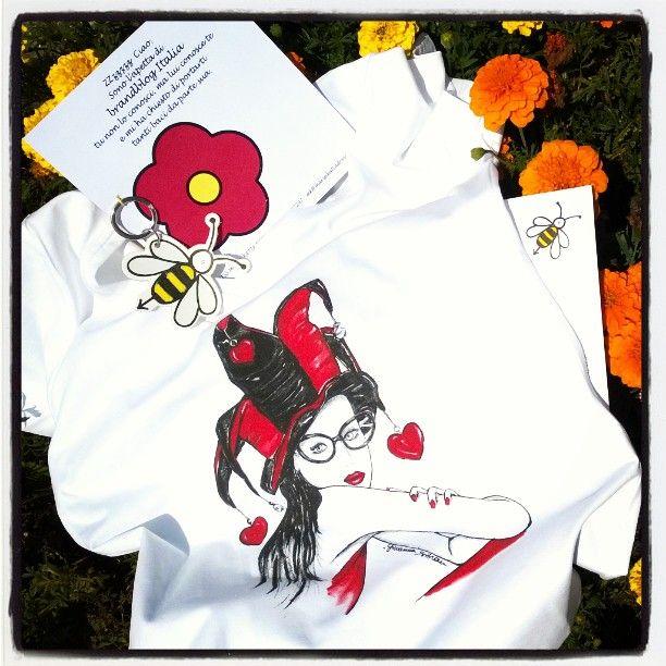 Ecco le tee-shirt con le mie illustrazioni!   http://www.theglampepper.com/2015/08/10/ecco-le-tee-shirt-con-le-mie-illustrazioni/