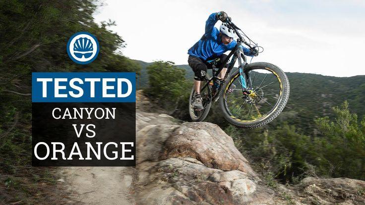 Canyon Strive CF Vs. Orange Alpine 160