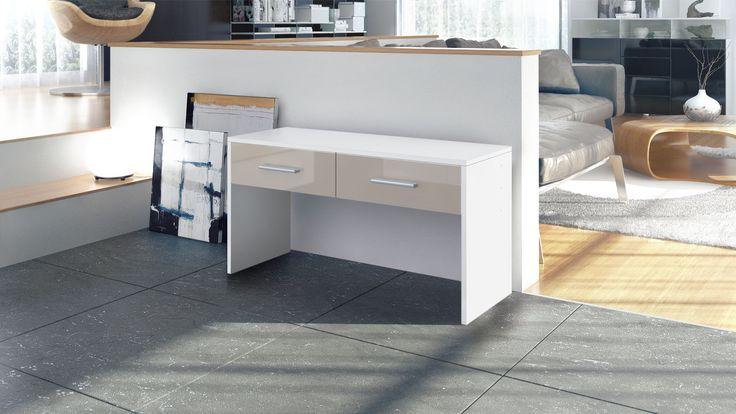 Sitzbank Luna in verschiedenen Farben und Öffnungsoptionen von vladon.de