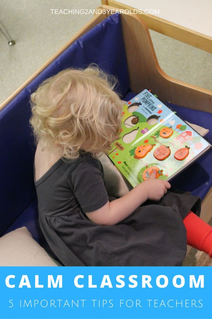 Toddlers and preschoolers have a lot of energy! Here are my favorite tips for teachers on how to create a calmer classroom. #teachers #classroom #preschool #behavior