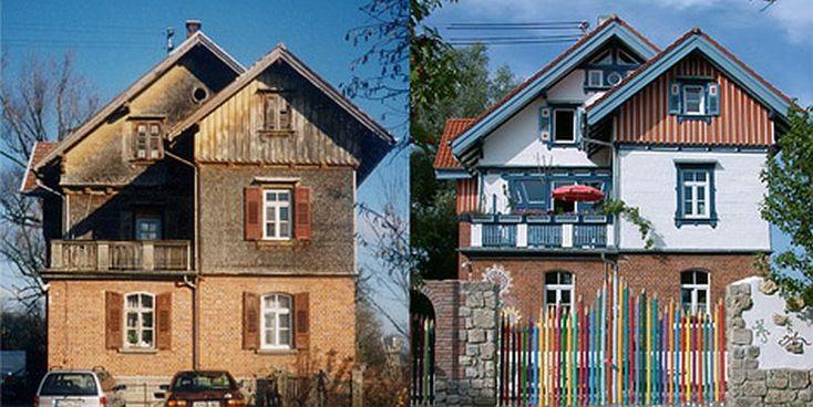 adelaparvu.com despre casa colorata, gard cu forma de creioane, interioare colorate, idei creative acasa, designer Bine Braendle (25)