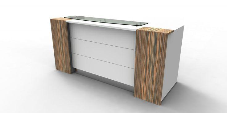 Apex Lite Reception Desk - Rockdale Office Furnishers