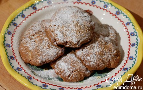 Печенье с белым шоколадом, кофе и макадамией  | Кулинарные рецепты от «Едим дома!»