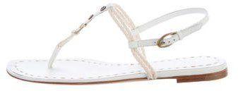 Celine Rope T-Strap Sandals