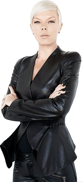Tabatha Coffey. Awesome hairstylist. Reality TV star. Fashion maven. All-around badass.