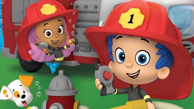 Bubble Guppies Full TV Episode Game for Children (Firefighter Knights To...