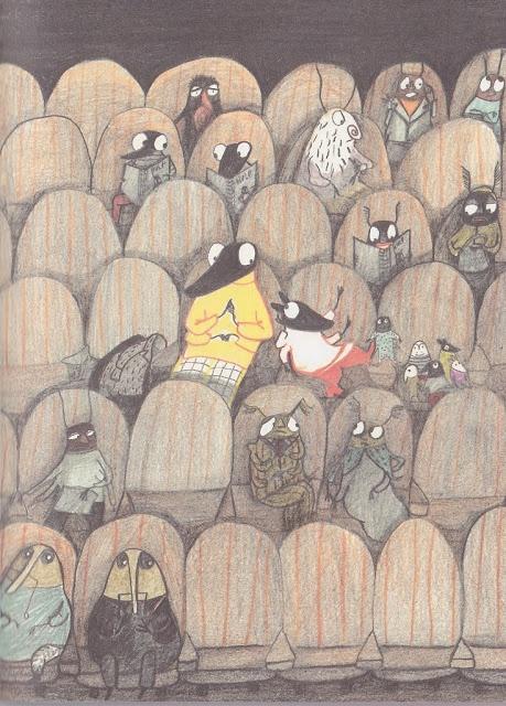Autora: Kitty Crowther Llibre: Poka y Mina