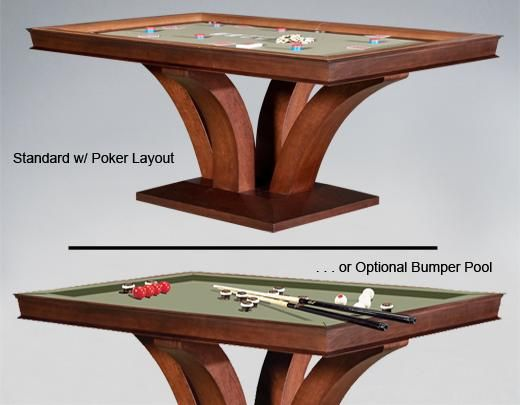 Darafeev Treviso Dining/Poker and/or Bumper Pool Table