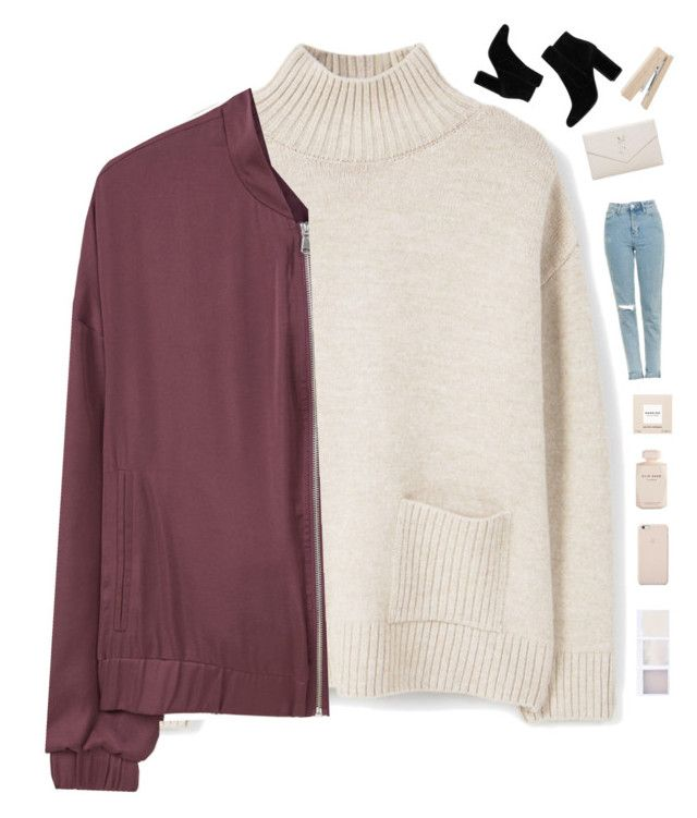 """""""Family dinner"""" by genesis129 ❤ liked on Polyvore featuring MANGO, Topshop, Narciso Rodriguez, Elie Saab, Black Apple, Yves Saint Laurent and vintage"""