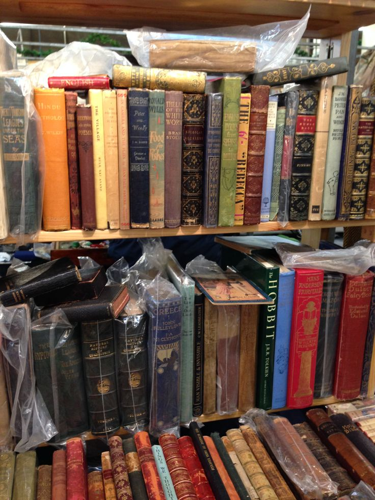 Books at the Antiques Market