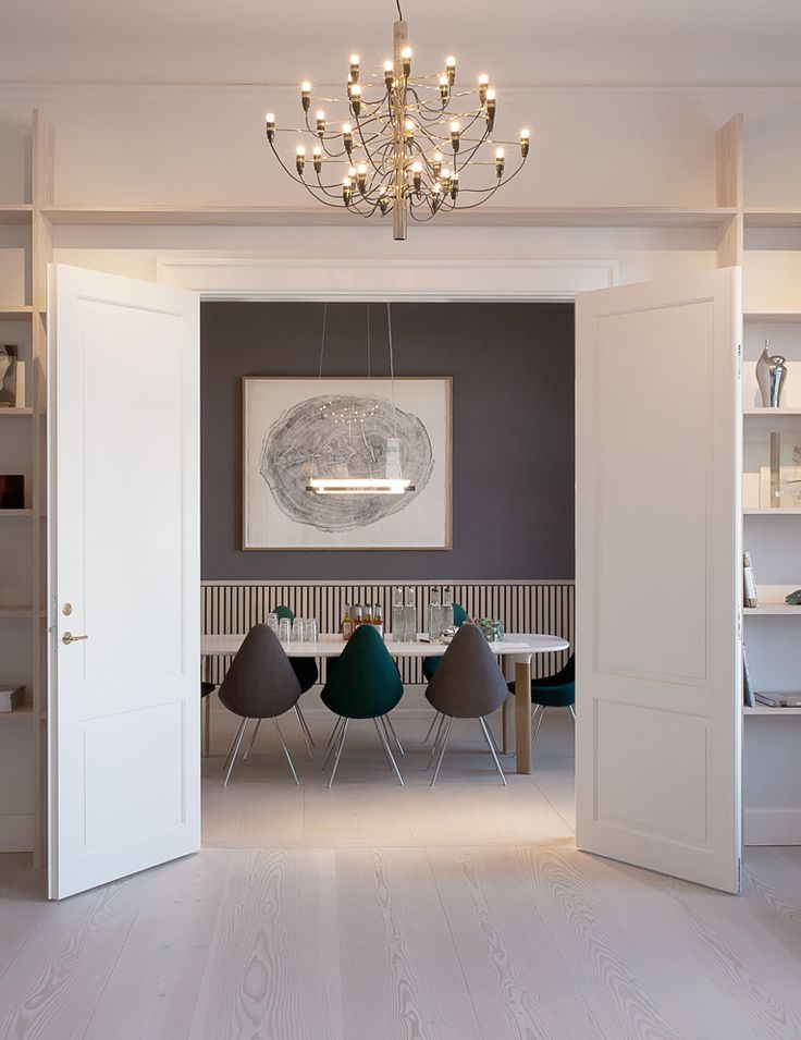 Dinesen Showroom - via cocolapinedesign.com