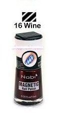 Nabi Magnetic Nail Polish - 16 Wine .5 oz. by Nabi ** Learn more by visiting the image link.