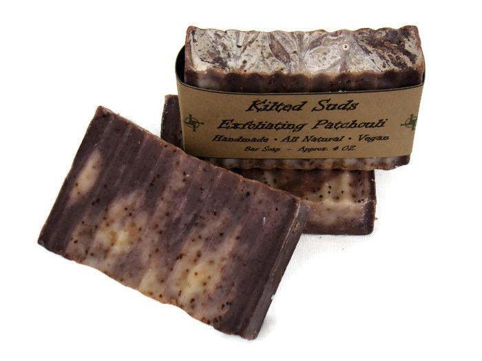 Exfoliating Patchouli Soap