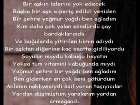 """yılmaz erdoğan """"yağmur"""""""