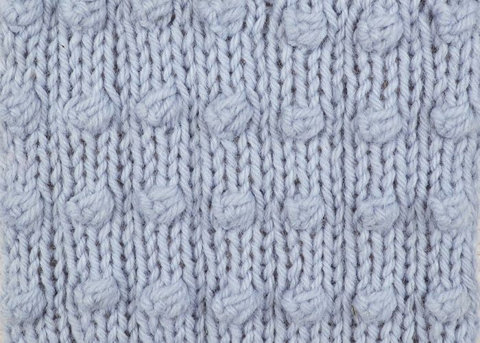 Knitting Popcorn Stitch Pattern : Give the Popcorn Stripe Stitch a go with our latest Something for the Weekend...