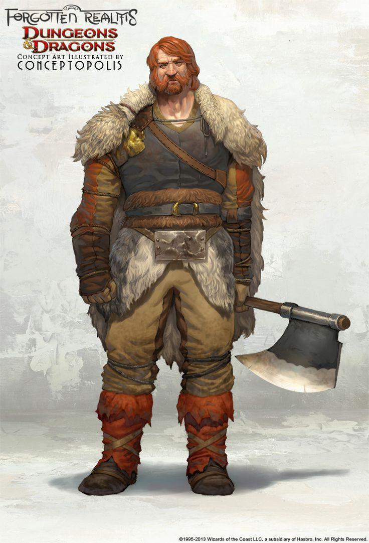 Senhor de terras a leste de Talhia, nativo das terras geladas do norte