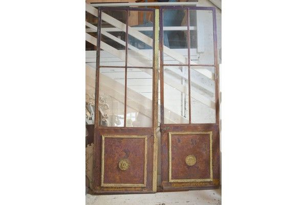 Pair Of Chateau Doors | Vinterior London  #vintage #rustic #home #french #design #interiors