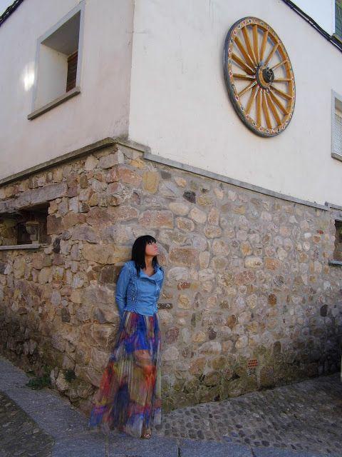 VIVE TU MODA: Cazadora azul cielo Miss-tic, descubriendo Castrov...