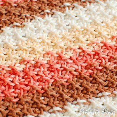 Free Tunisian Stitch Pattern