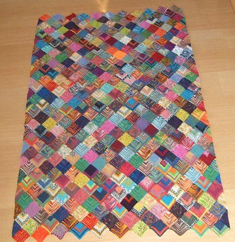 restedecke sockenwolle aus kleinen quadraten handarbeit pinterest quadrate stricken und. Black Bedroom Furniture Sets. Home Design Ideas