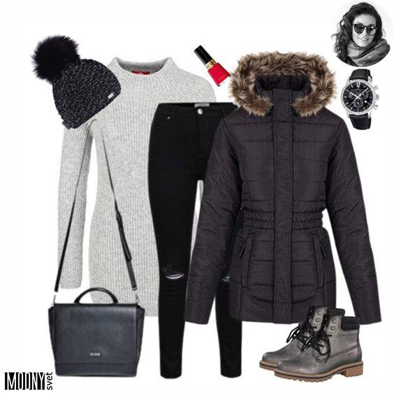 Dnešný úlovok dňa je tento dlhý sivý sveter. Ten sa vám v zime určite zíde.❤Jednoduchý, príjemný, trendy.😍Nesmie samozrejme chýbať teplá bunda👍Táto je super, lebo vám pekne vytvaruje pás 😉 Viac zimných inšpirácií nájdete TU
