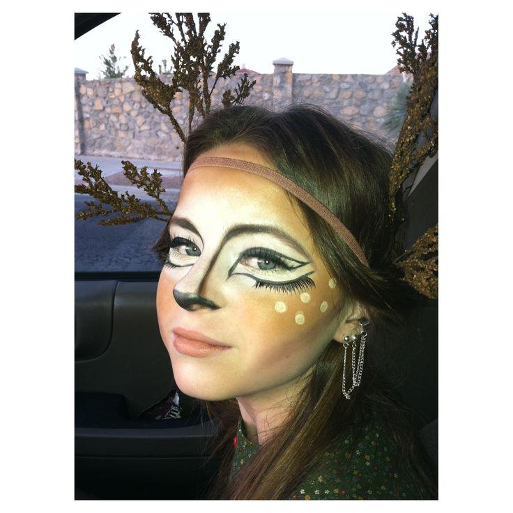 deer halloween makeup - photo #13