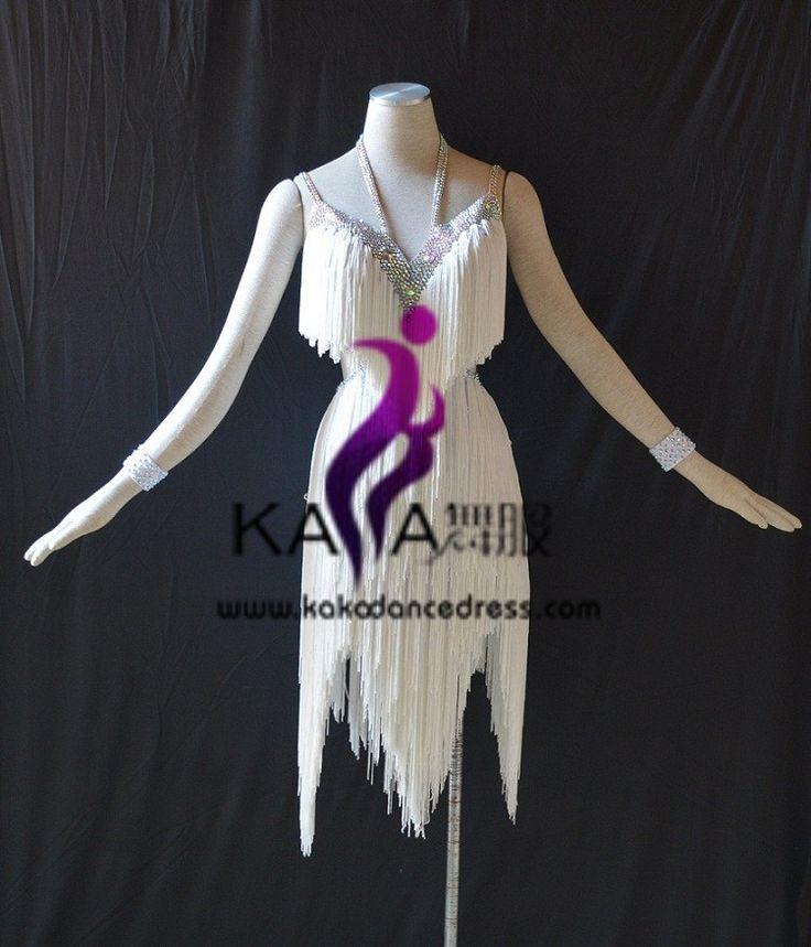 Aliexpress.com: Compre Kaka l1507, Mulheres de dança desgaste, Franja latina vestido, Salsa vestido Tango Samba Rumba Chacha de confiança vestir noivas e madrinhas fornecedores em SZ KAKA DANCE DRESS FACTORY Online store 31159