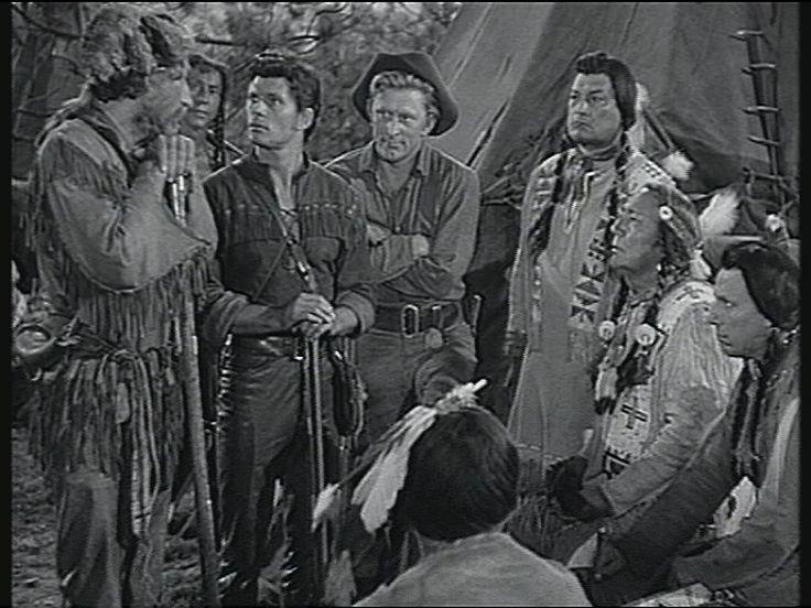The Big Sky (1952) Dewey Martin, Arthur Hunnicutt, Kirk Douglas,