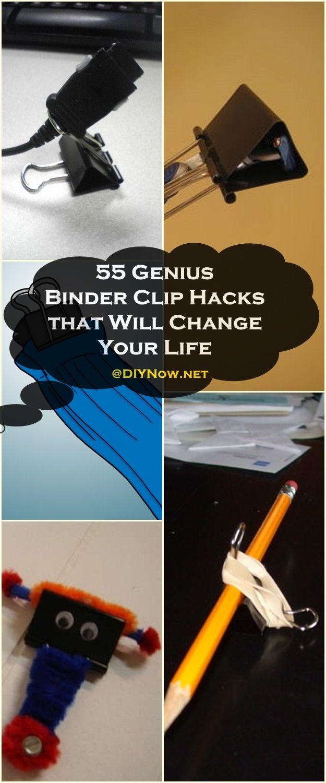 55 Genius Binder Clip Hacks that Will Change Your Life